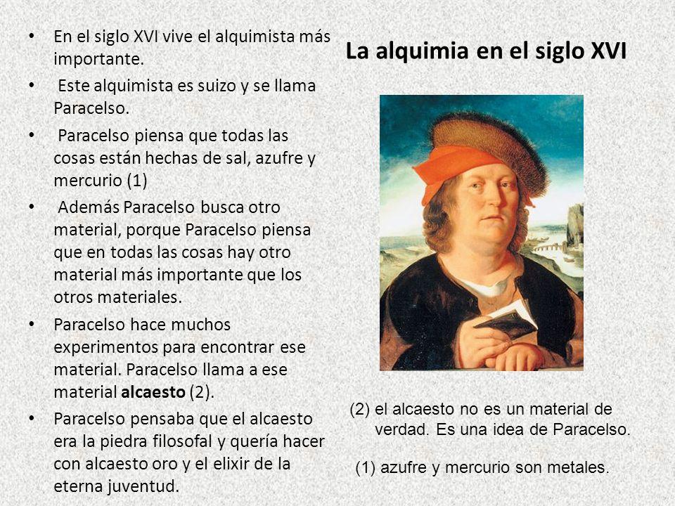 La alquimia en el siglo XVI