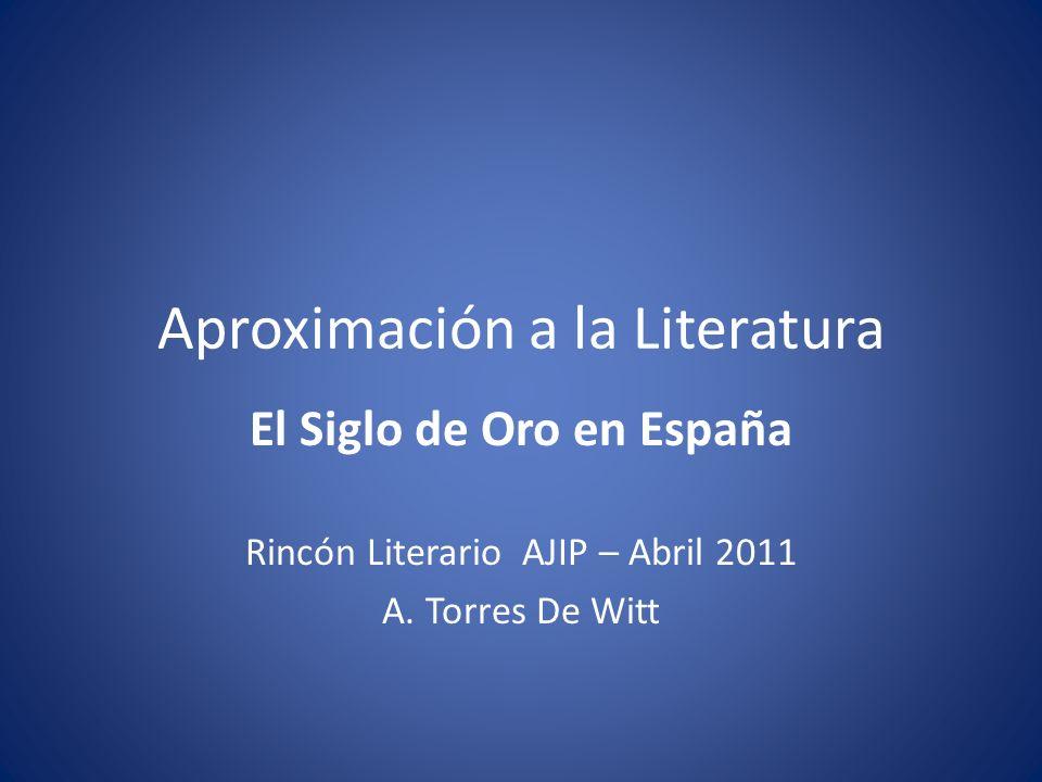 Aproximación a la Literatura