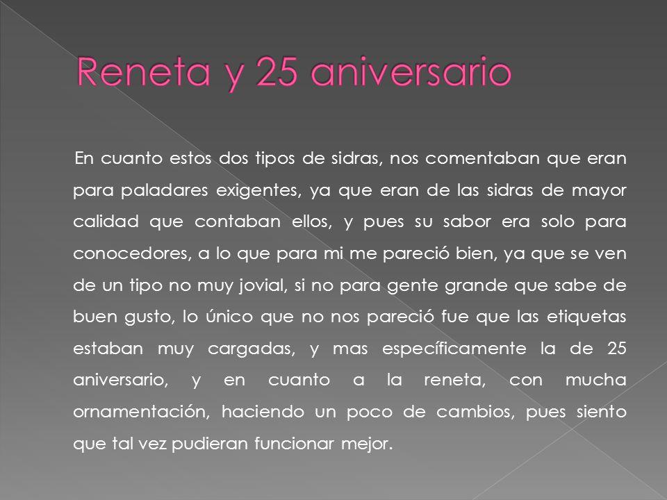 Reneta y 25 aniversario