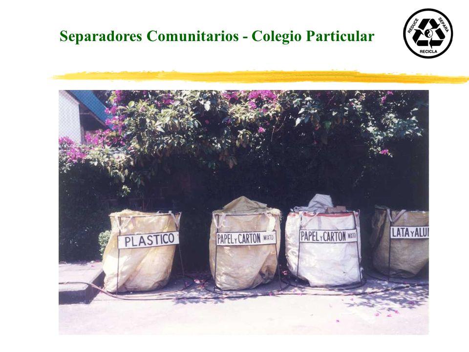 Separadores Comunitarios - Colegio Particular