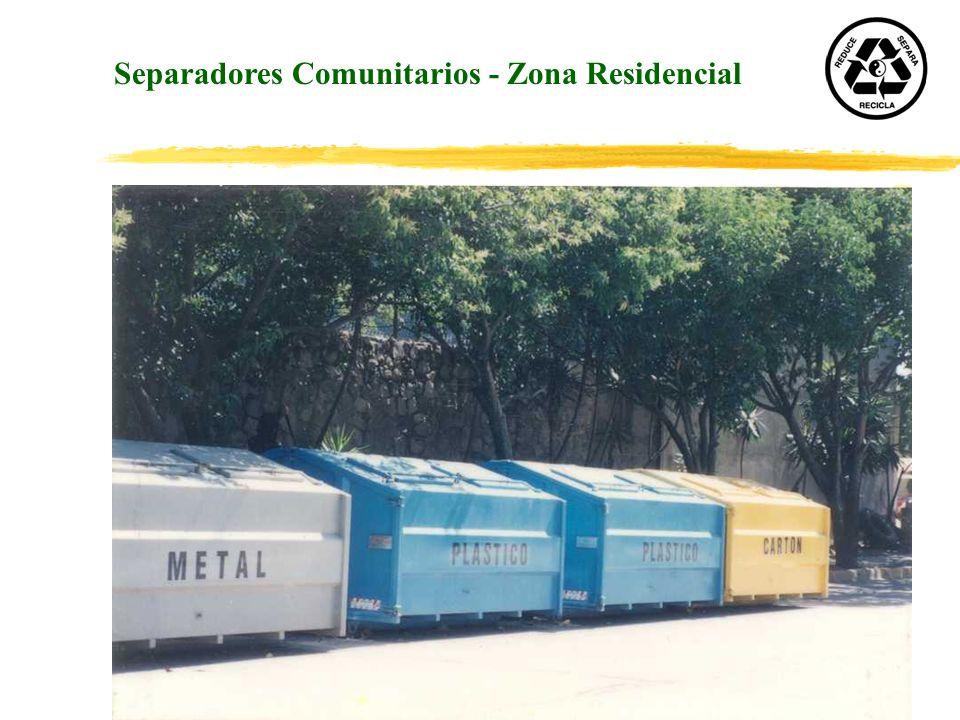 Separadores Comunitarios - Zona Residencial