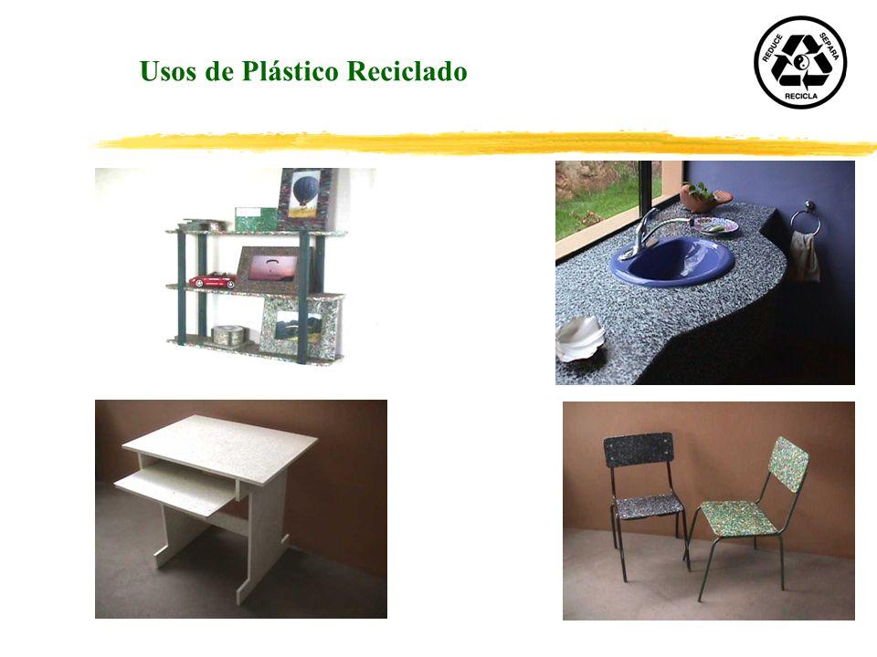 Usos de Plástico Reciclado