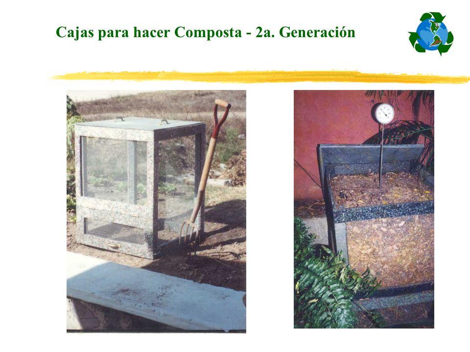 Cajas para hacer Composta - 2a. Generación