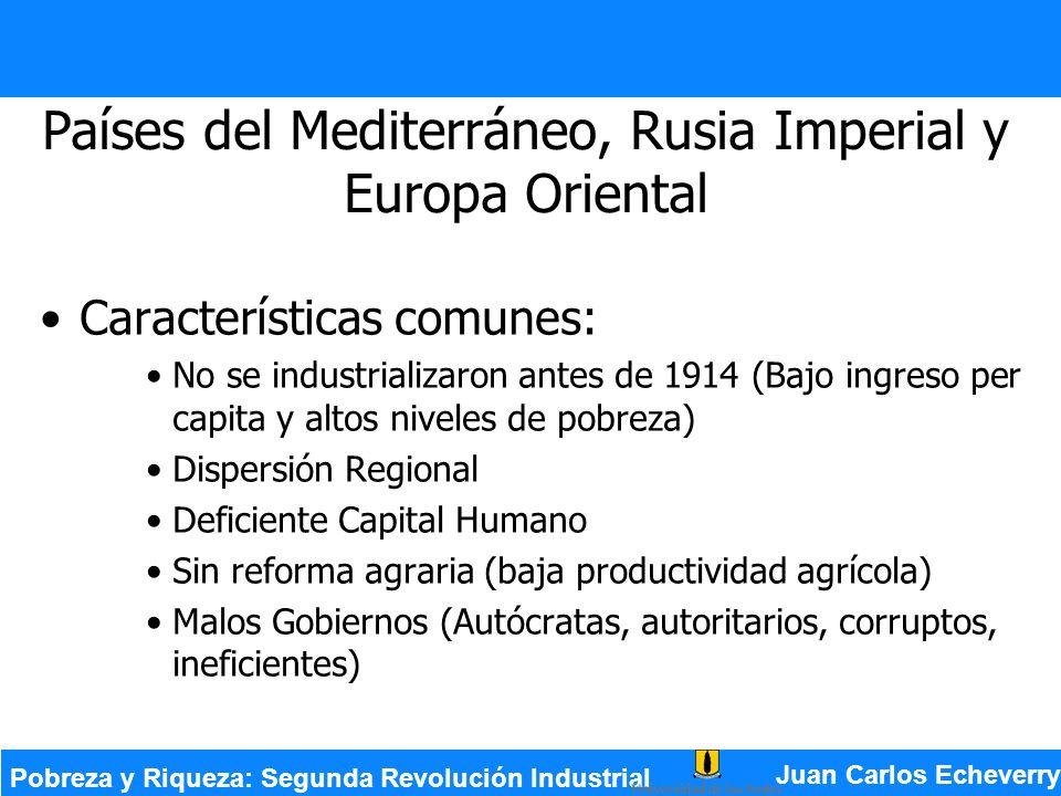 Países del Mediterráneo, Rusia Imperial y Europa Oriental