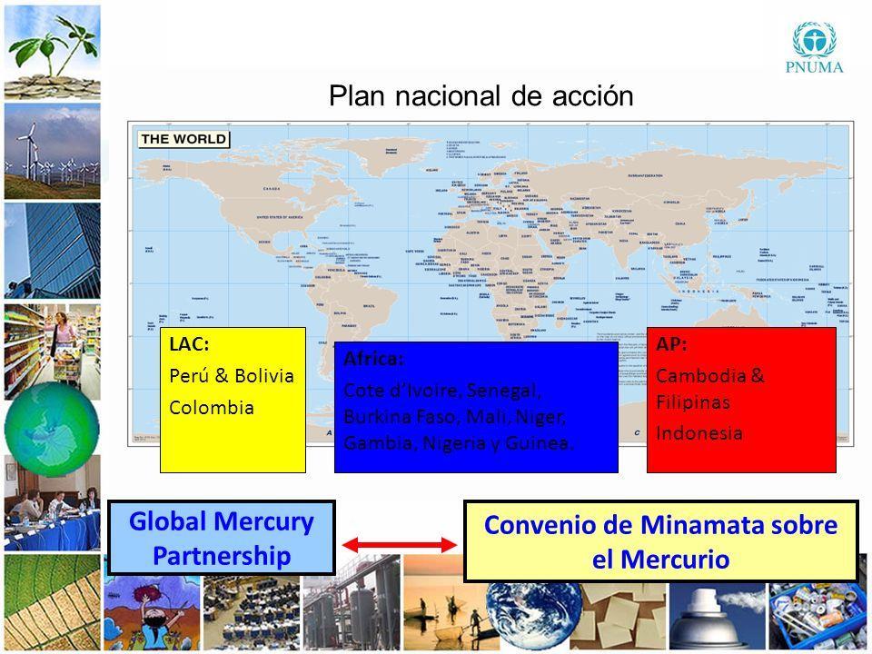 Global Mercury Partnership Convenio de Minamata sobre el Mercurio