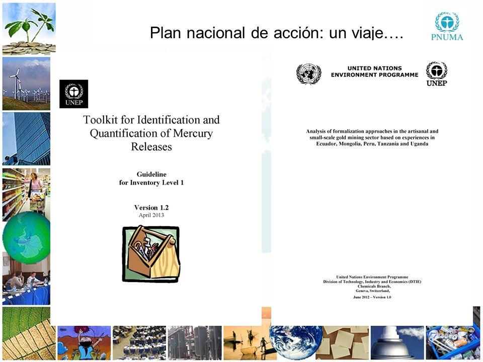 Plan nacional de acción: un viaje….