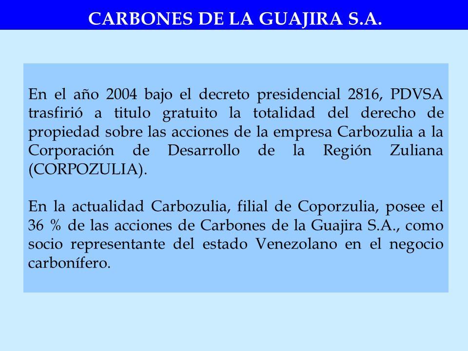 CARBONES DE LA GUAJIRA S.A.