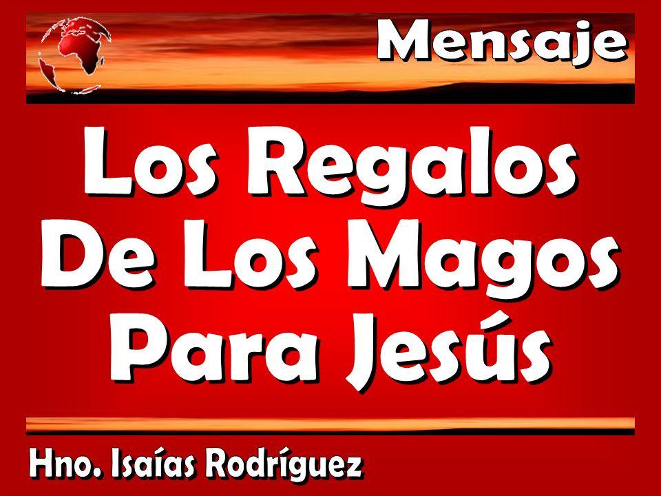 Los Regalos De Los Magos Para Jesús