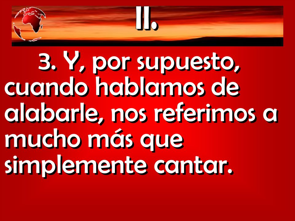 II. 3.