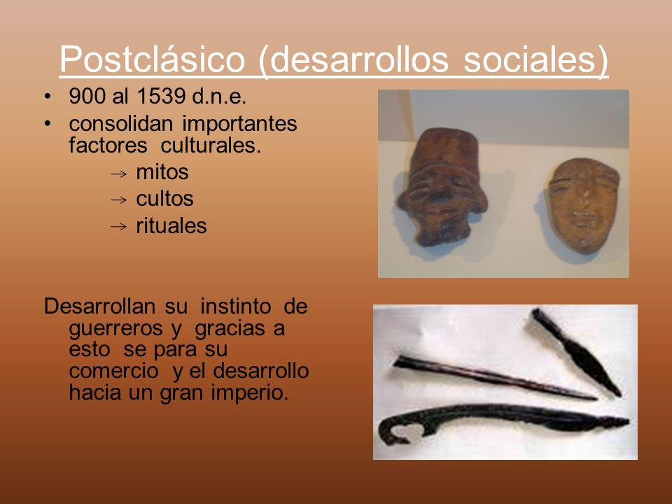 Postclásico (desarrollos sociales)