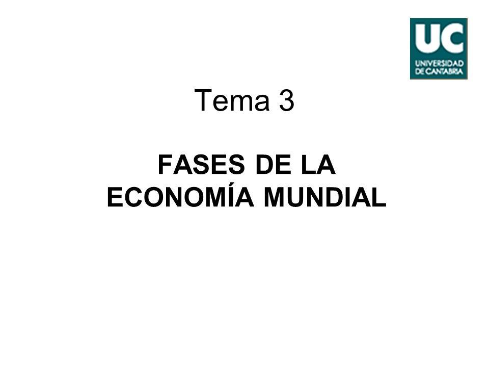 FASES DE LA ECONOMÍA MUNDIAL