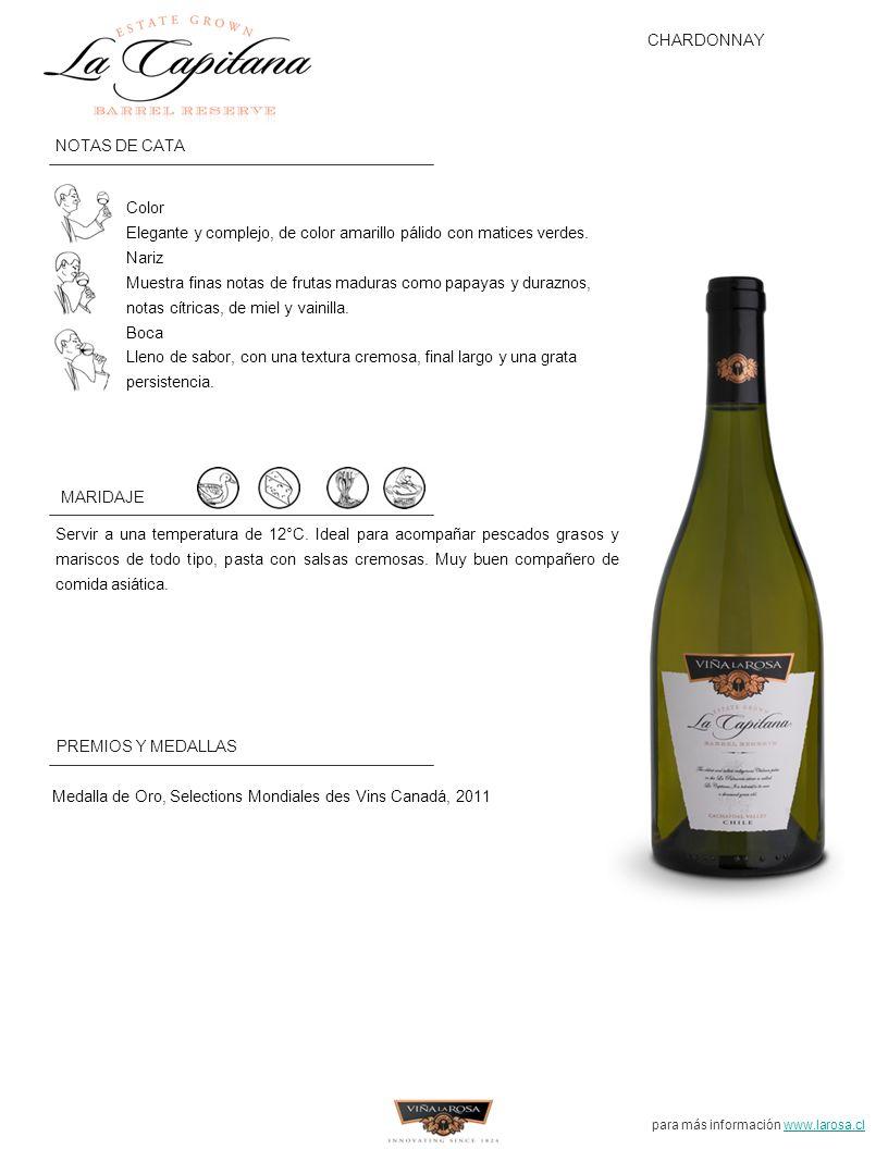 para más información www.larosa.cl