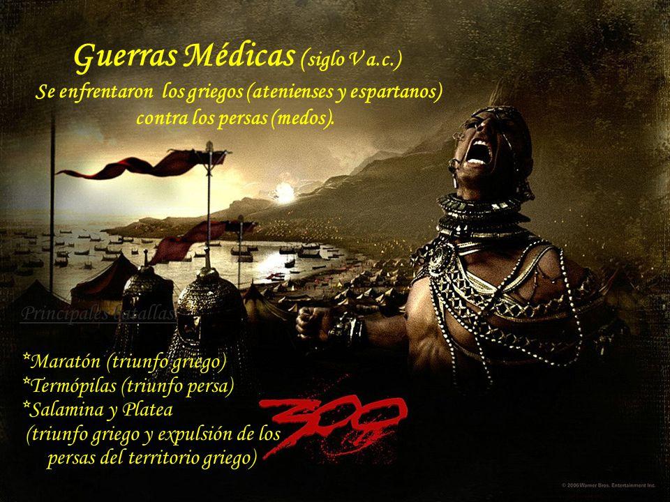 Guerras Médicas (siglo V a. c