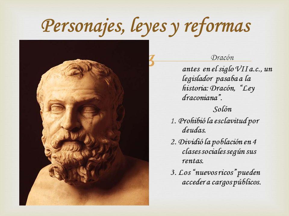 Personajes, leyes y reformas