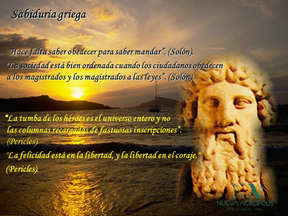 Sabiduría griega