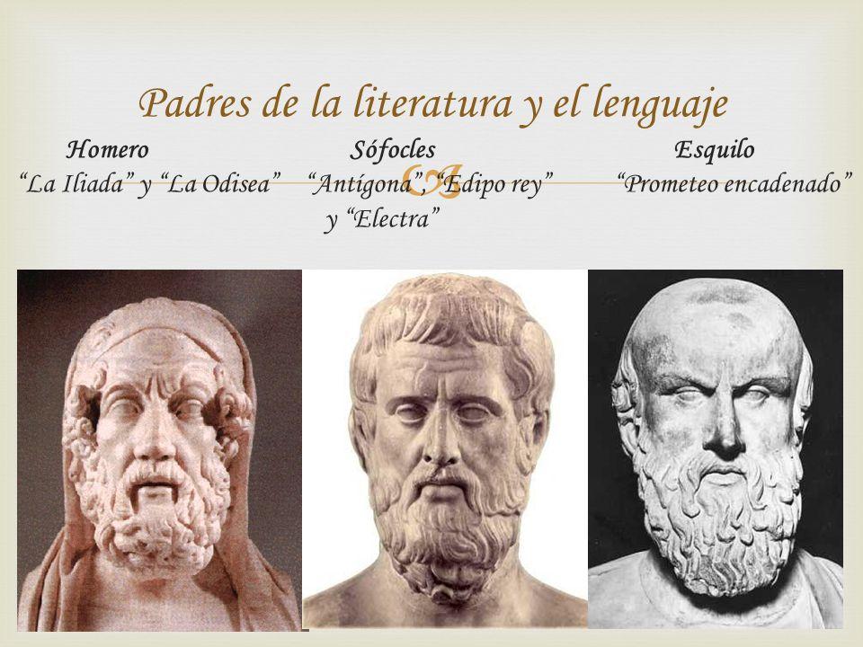 Padres de la literatura y el lenguaje