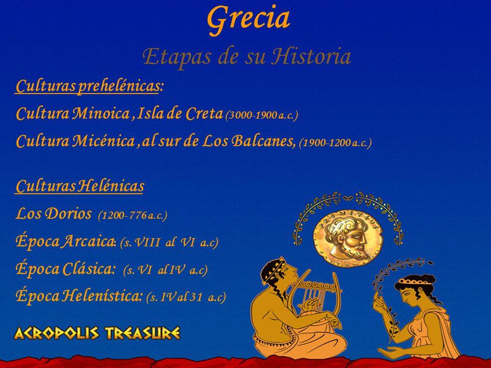 Grecia Etapas de su Historia