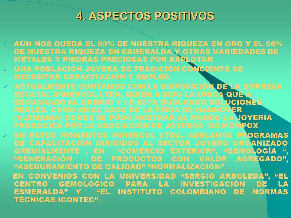 4. ASPECTOS POSITIVOS