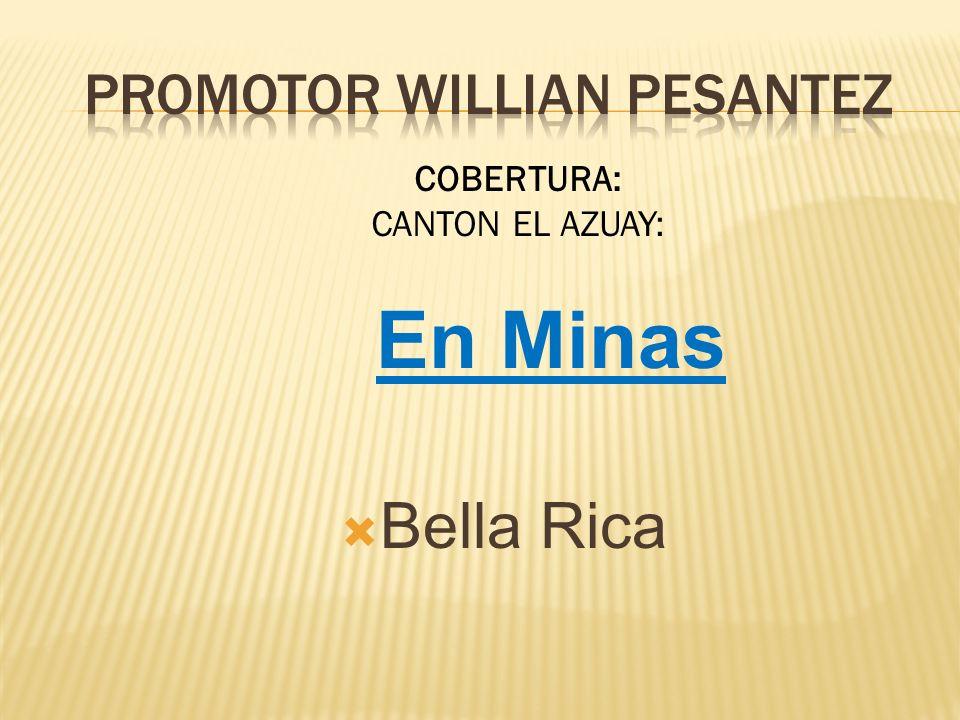 PROMOTOR WILLIAN PESANTEZ