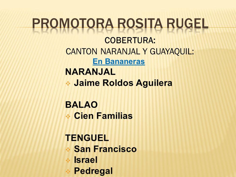PROMOTORa ROSITA RUGEL