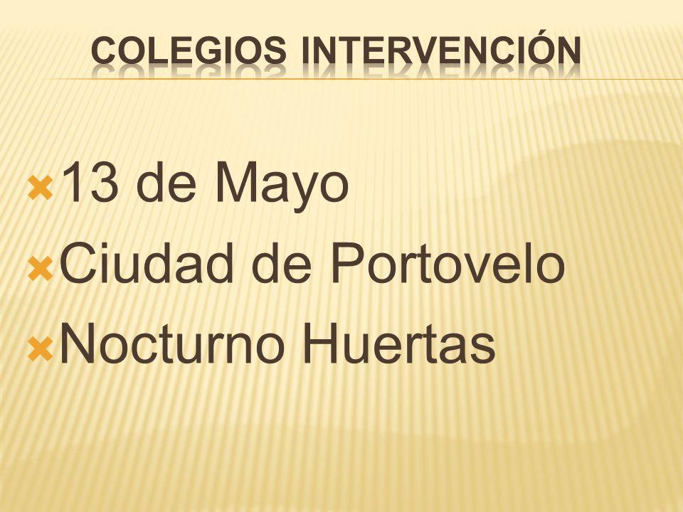 Colegios intervención