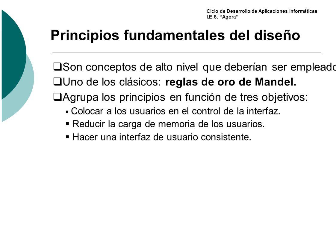 Principios fundamentales del diseño