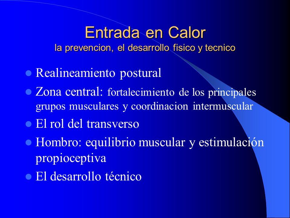 Entrada en Calor la prevencion, el desarrollo fisico y tecnico