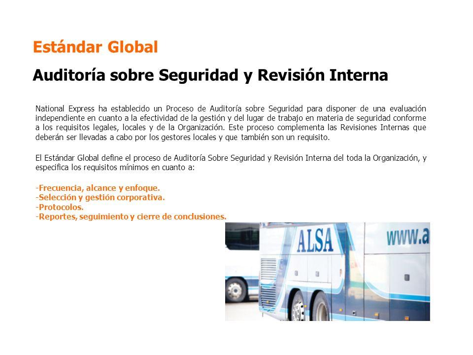 Estándar Global Auditoría sobre Seguridad y Revisión Interna