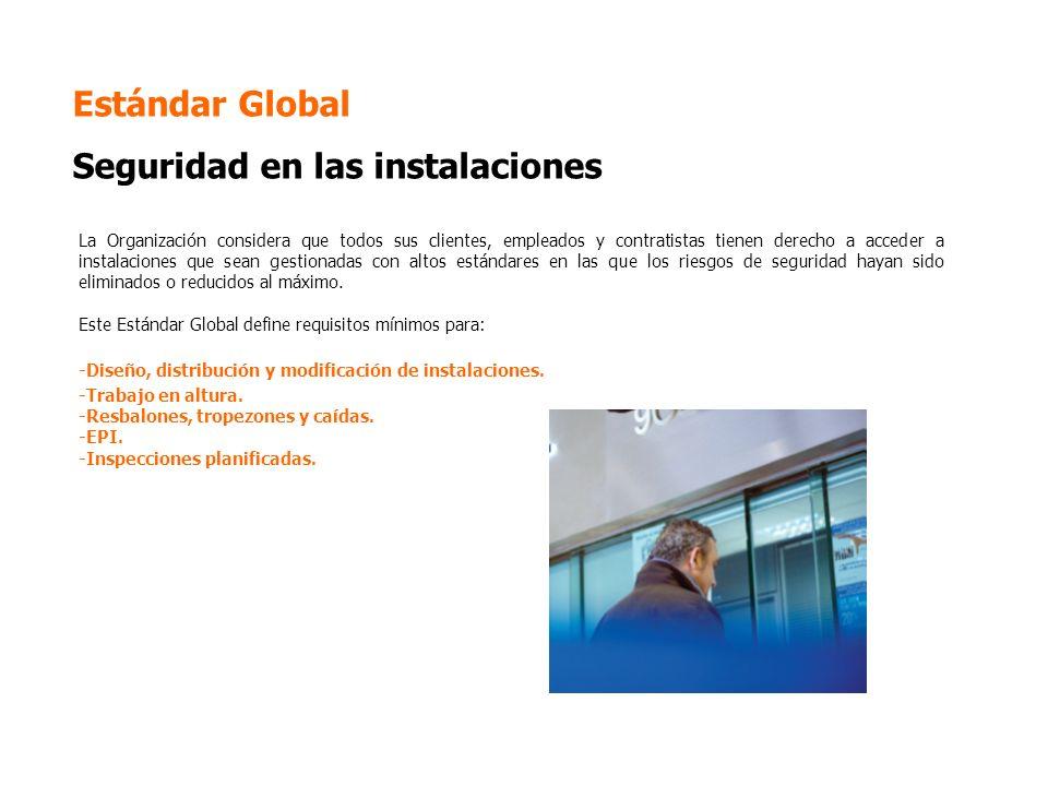 Estándar Global Seguridad en las instalaciones