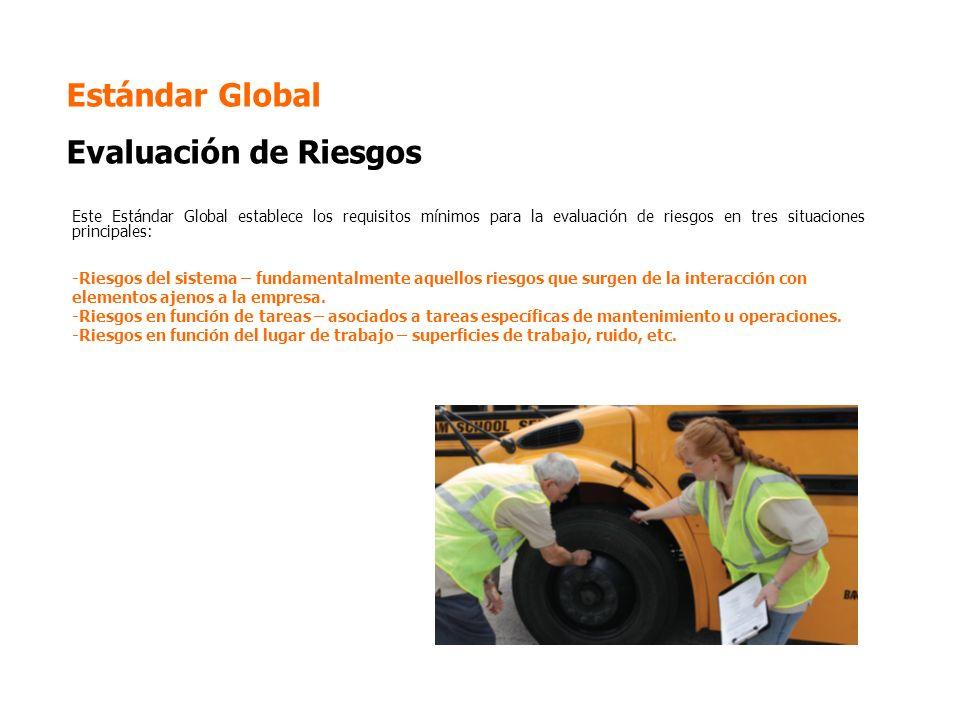 Estándar Global Evaluación de Riesgos