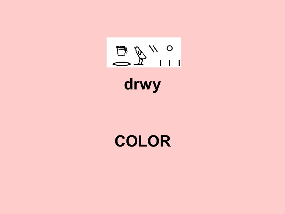 drwy COLOR
