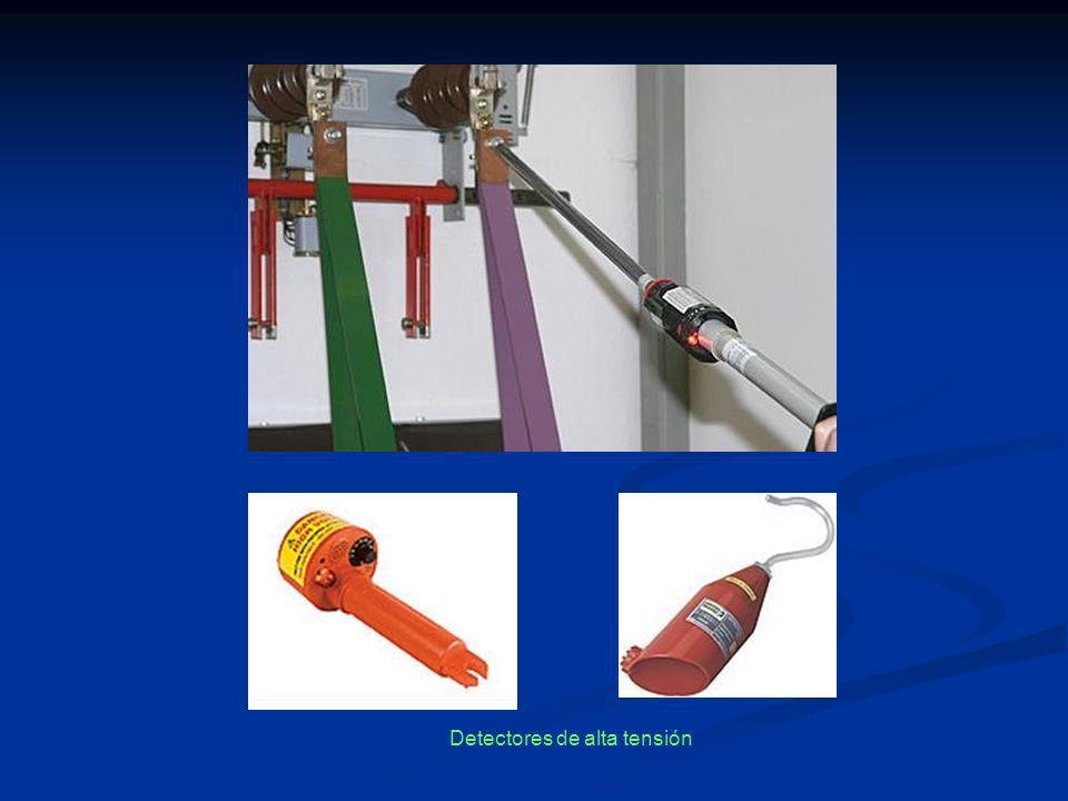 Detectores de alta tensión