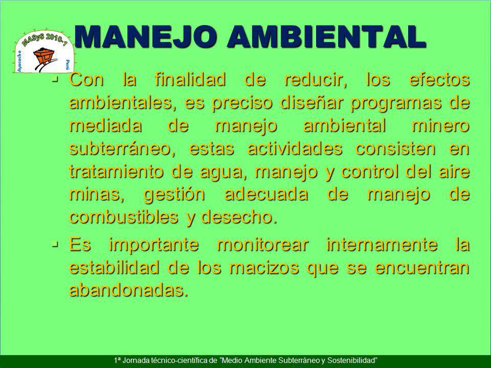 MANEJO AMBIENTAL