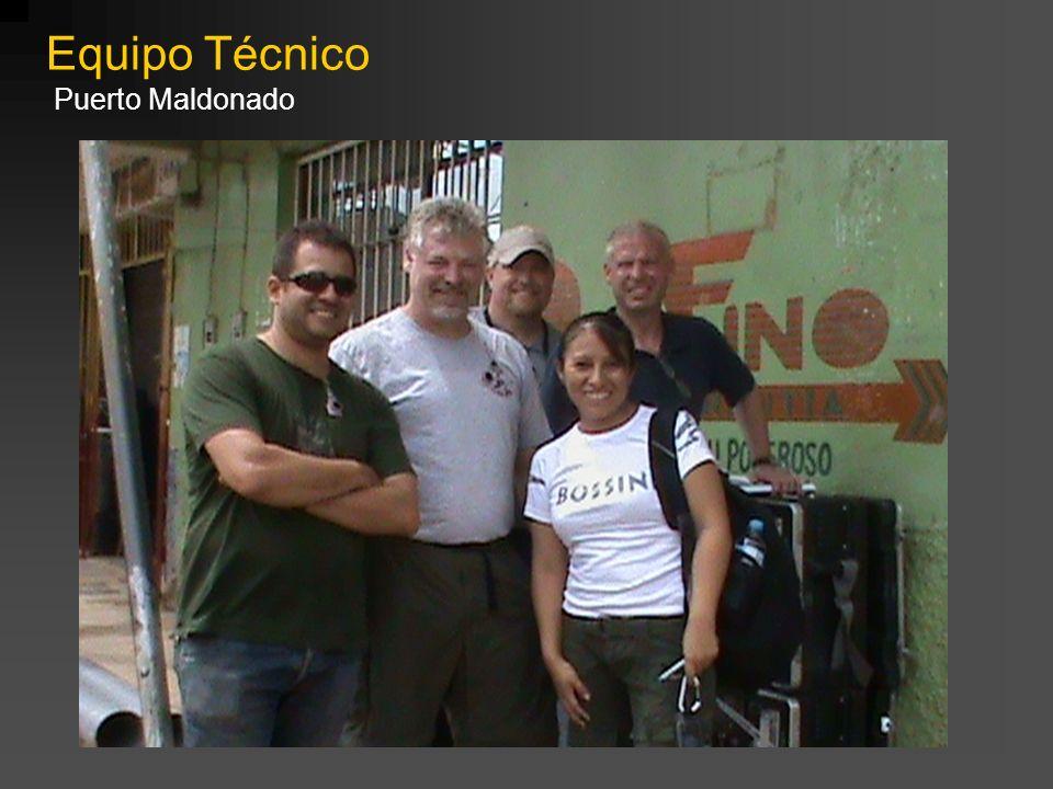 Equipo Técnico Puerto Maldonado