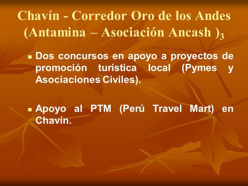 Chavín - Corredor Oro de los Andes (Antamina – Asociación Ancash )3