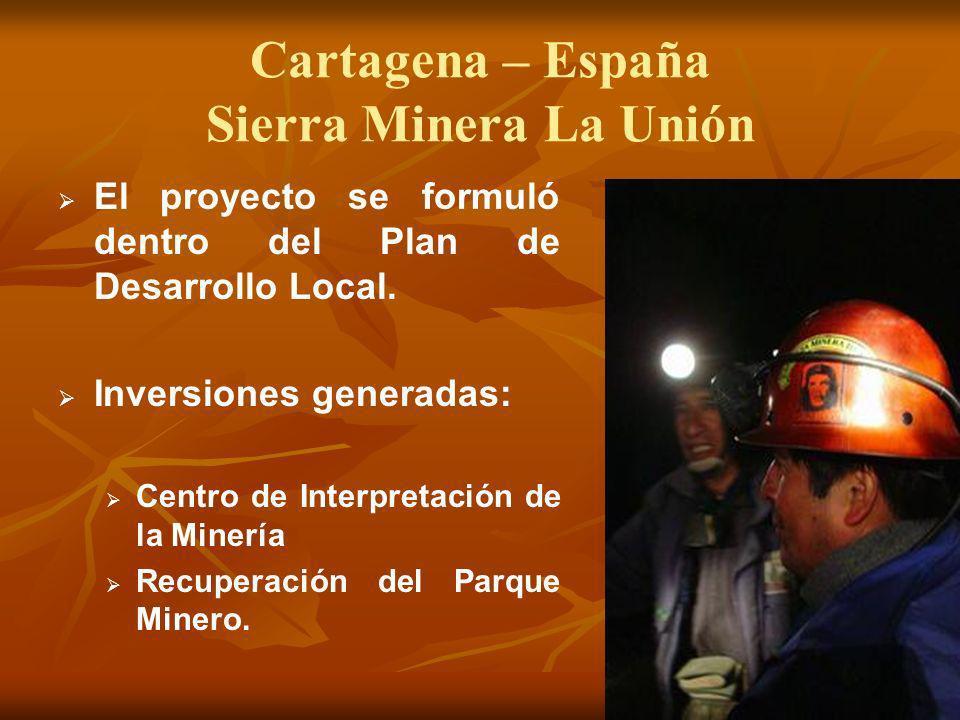 Cartagena – España Sierra Minera La Unión