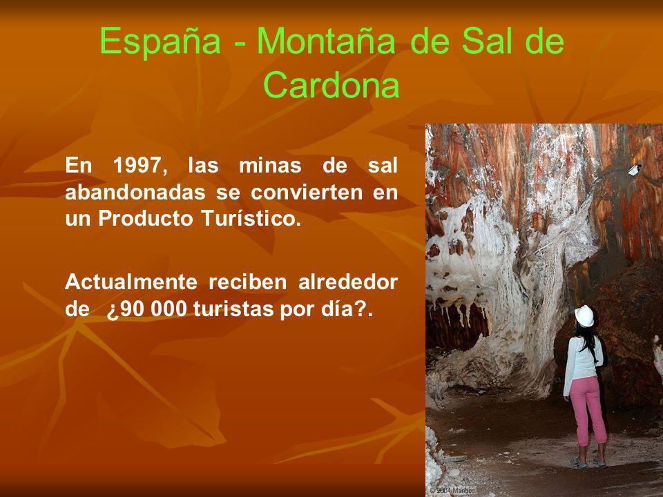 España - Montaña de Sal de Cardona
