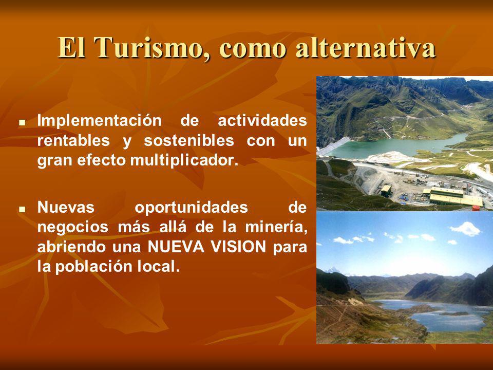 El Turismo, como alternativa