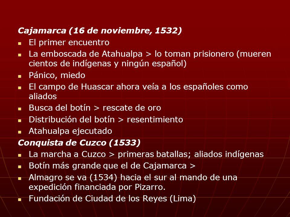 Cajamarca (16 de noviembre, 1532)