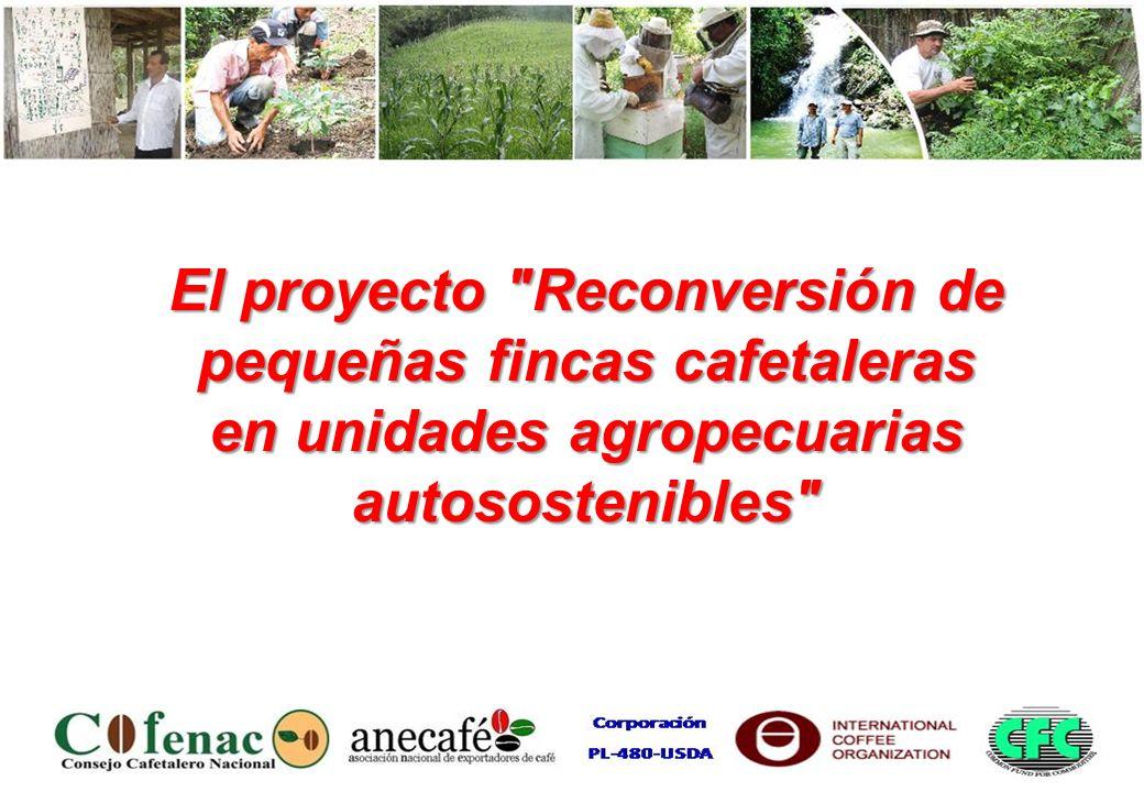 El proyecto Reconversión de pequeñas fincas cafetaleras en unidades agropecuarias autosostenibles