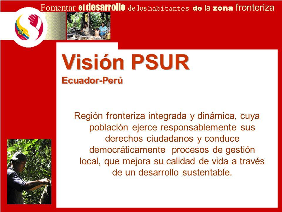 Visión PSUR Ecuador-Perú