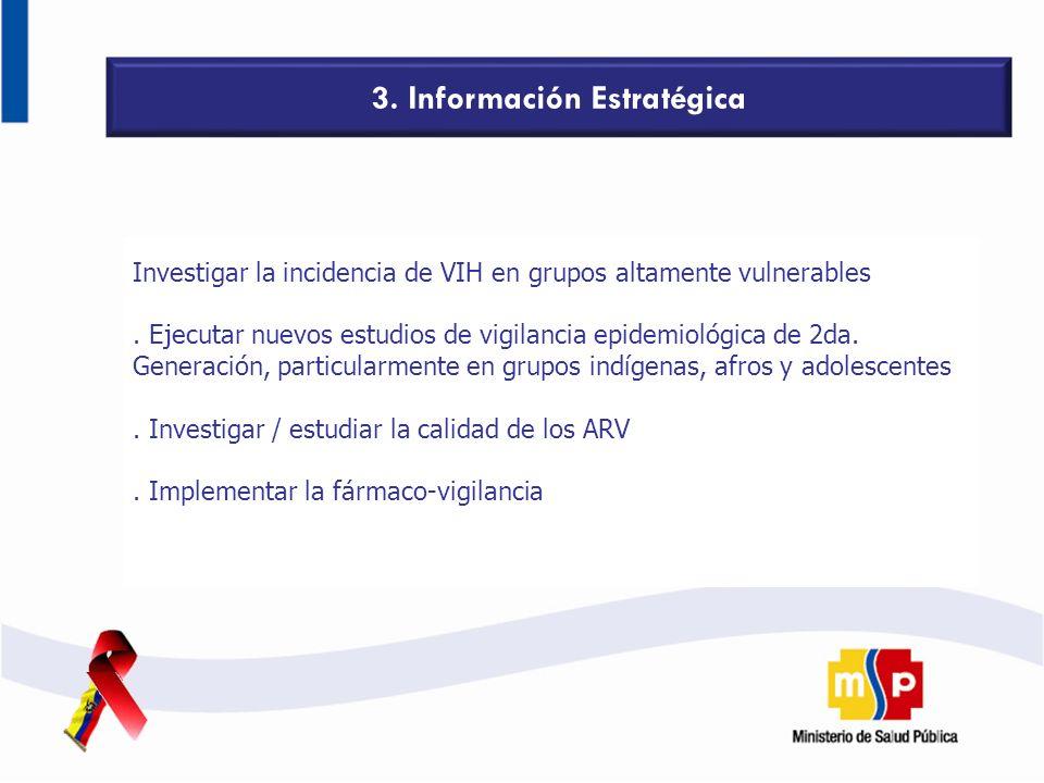 3. Información Estratégica