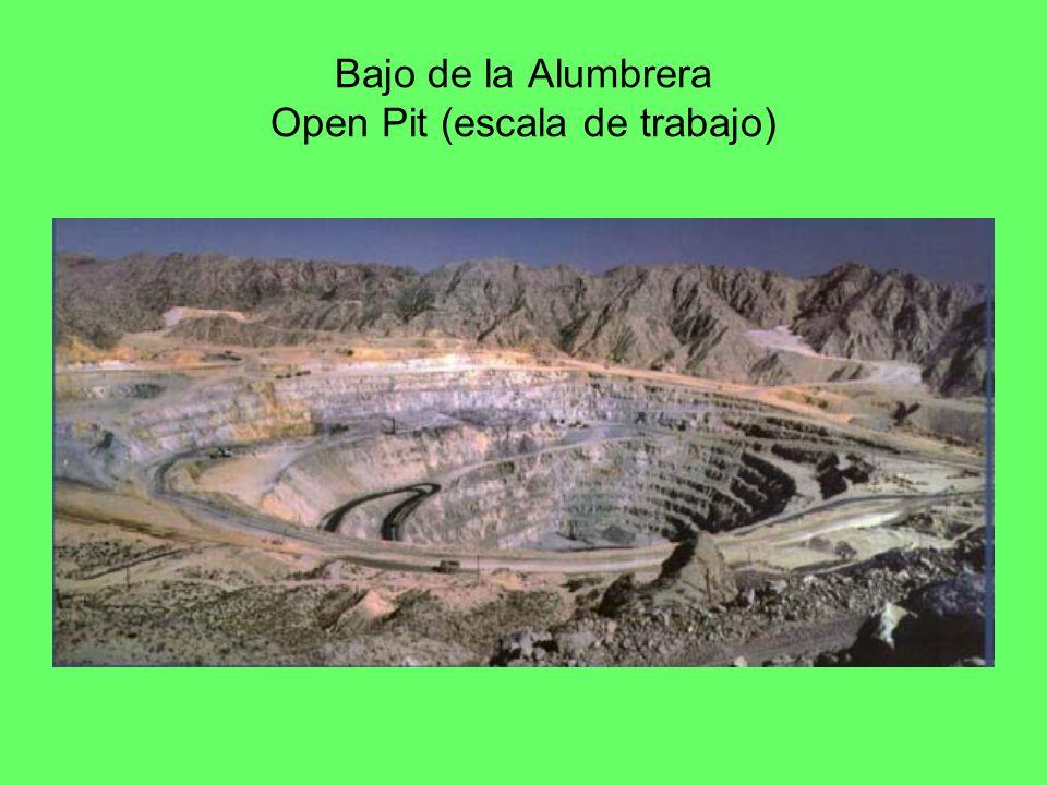Bajo de la Alumbrera Open Pit (escala de trabajo)