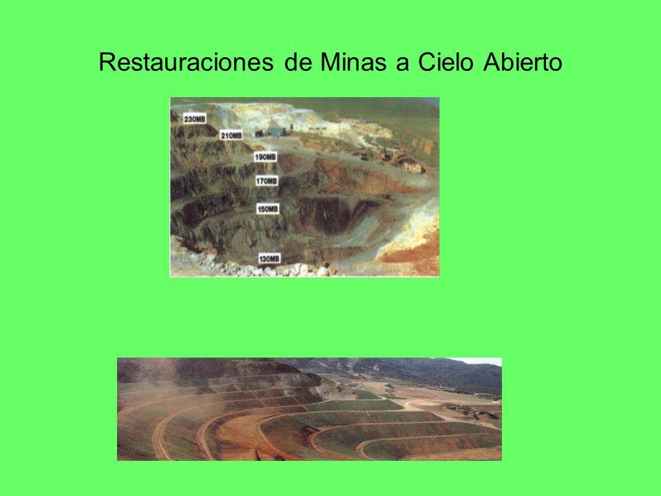 Restauraciones de Minas a Cielo Abierto