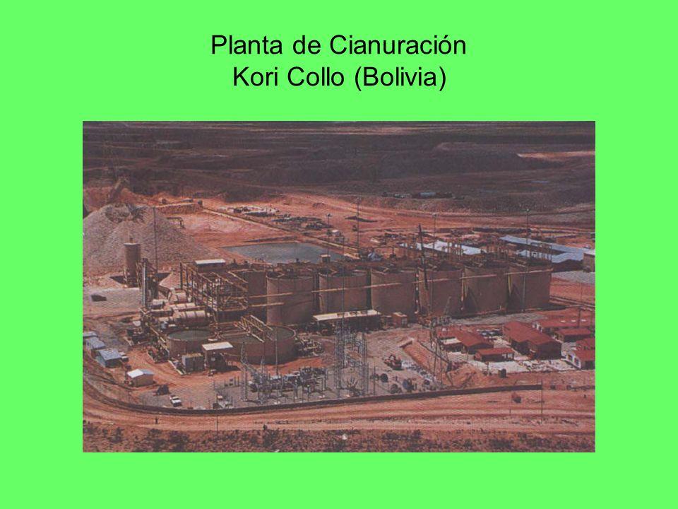 Planta de Cianuración Kori Collo (Bolivia)