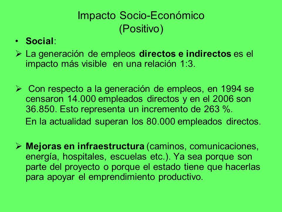 Impacto Socio-Económico (Positivo)