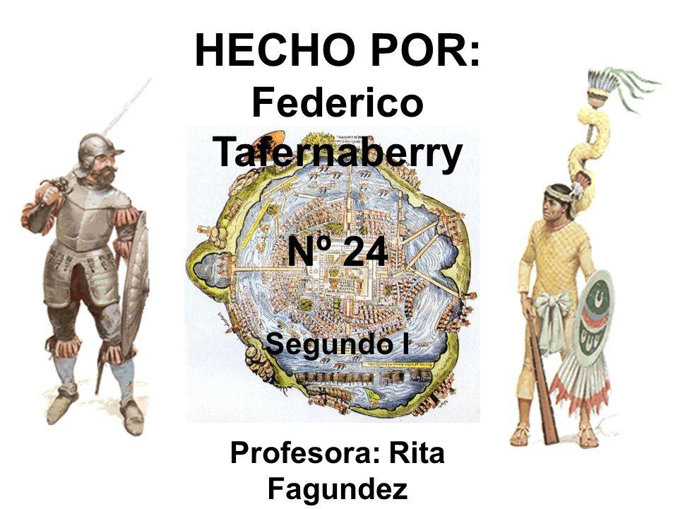 Federico Tafernaberry Profesora: Rita Fagundez