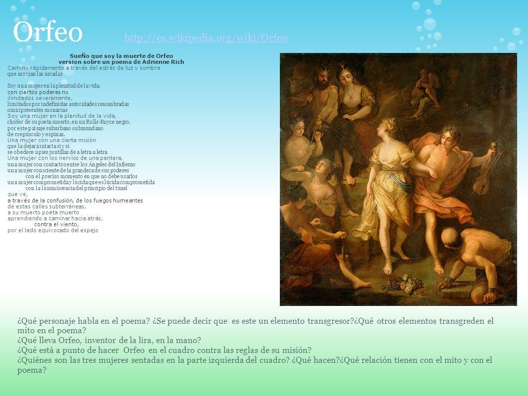 Orfeo http://es.wikipedia.org/wiki/Orfeo