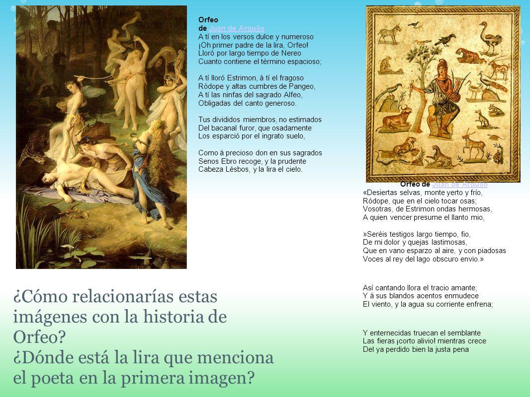 Orfeo de Juan de Arguijo