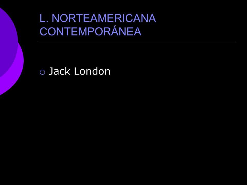 L. NORTEAMERICANA CONTEMPORÁNEA